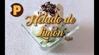 Receta: Cómo preparar Helado de Limón light | POSTREMANÍA
