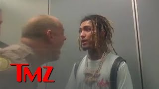 Body Cam Video Shows Lil Pump's Shouting Match with Cops | TMZ
