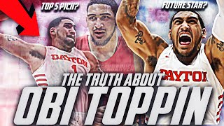 The TRUTH About Obi Toppin! 2020 NBA DRAFT