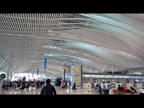 인천공항 제2터미널 직접 가보니... 놀라워