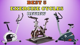 Best 5 Exercise Cycle for Fitness & Weight loss - Review [2019]
