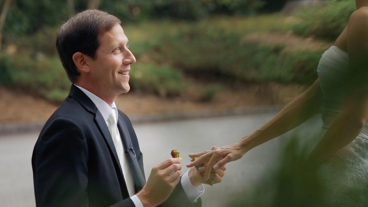 The Ring Pop Proposal Story Atlanta GA Wedding Video YouTube