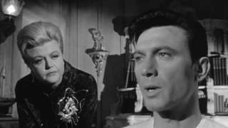 Classic Scene with Legendary Angela Lansbury and Laurence Harvey from The Manchurian Candidate (1962)