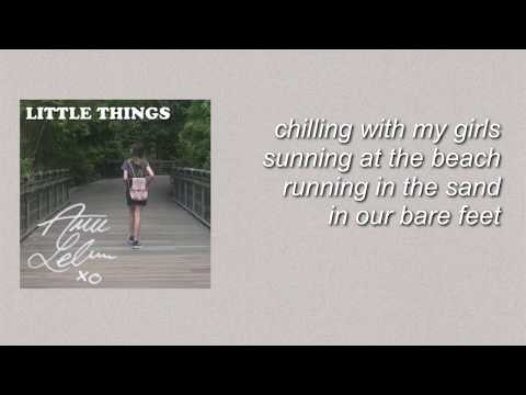 Little Things - Annie Leblanc (Lyrics)