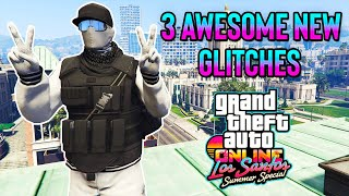 GTA 5 ONLINE TOP 3 NEW GLITCHES 1.51! DUPLICATE YOUR WEAPONS, WHITE JOGGERS GLITCH & MORE!!!