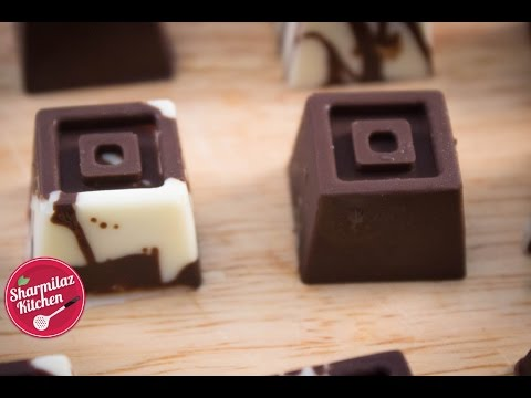 Rich Fruit & Nut Chocolate - How To Temper Chocolate Compound - Sharmilazkitchen