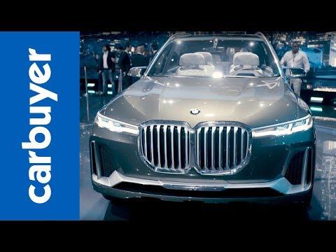 BMW X7 concept revealed - Frankfurt Motor Show 2017 - Carbuyer