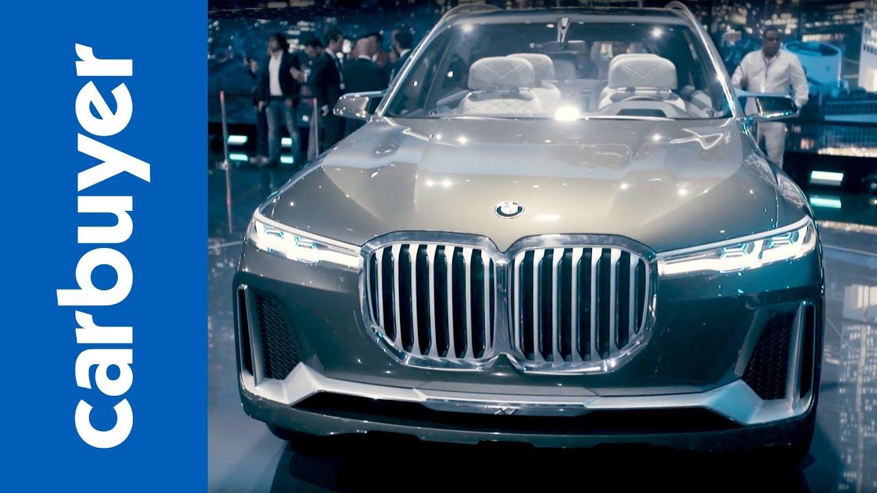 BMW X7 concept revealed - Frankfurt Motor Show 2017 - Carbuyer - Dauer: 66 Sekunden