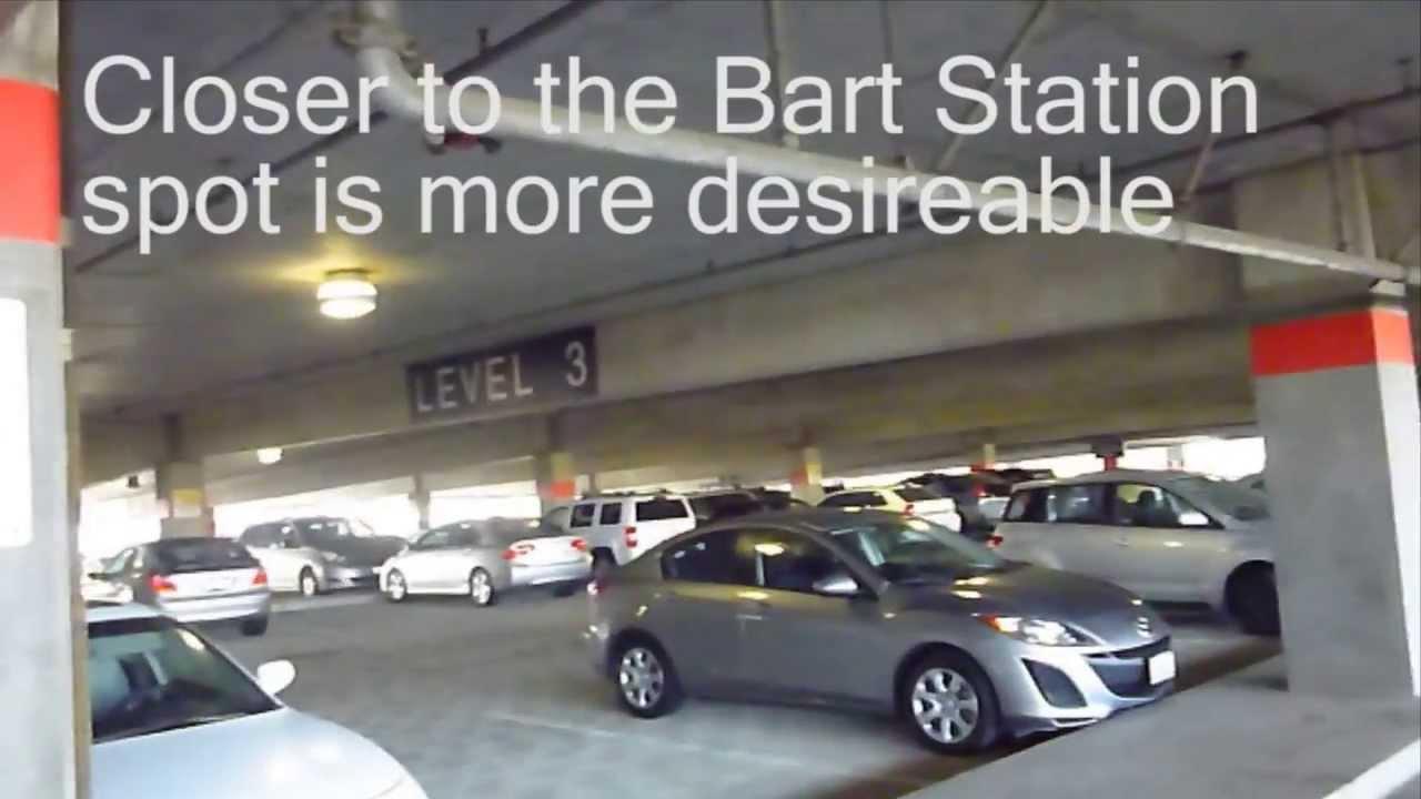 Long Term Parking At San Francisco Sfo Youtube