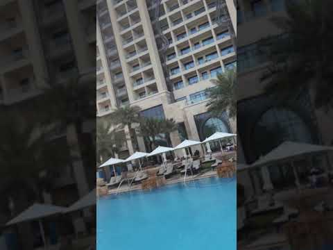 View of a luxury 7 star hotels in UAE , burj al Arab 2017