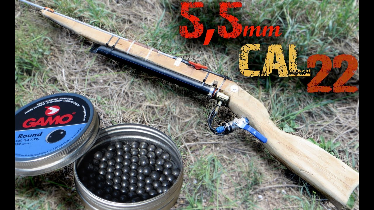 ᴴᴰ Homemade Air Gun Shooting To All Kinds Of Things 5 5