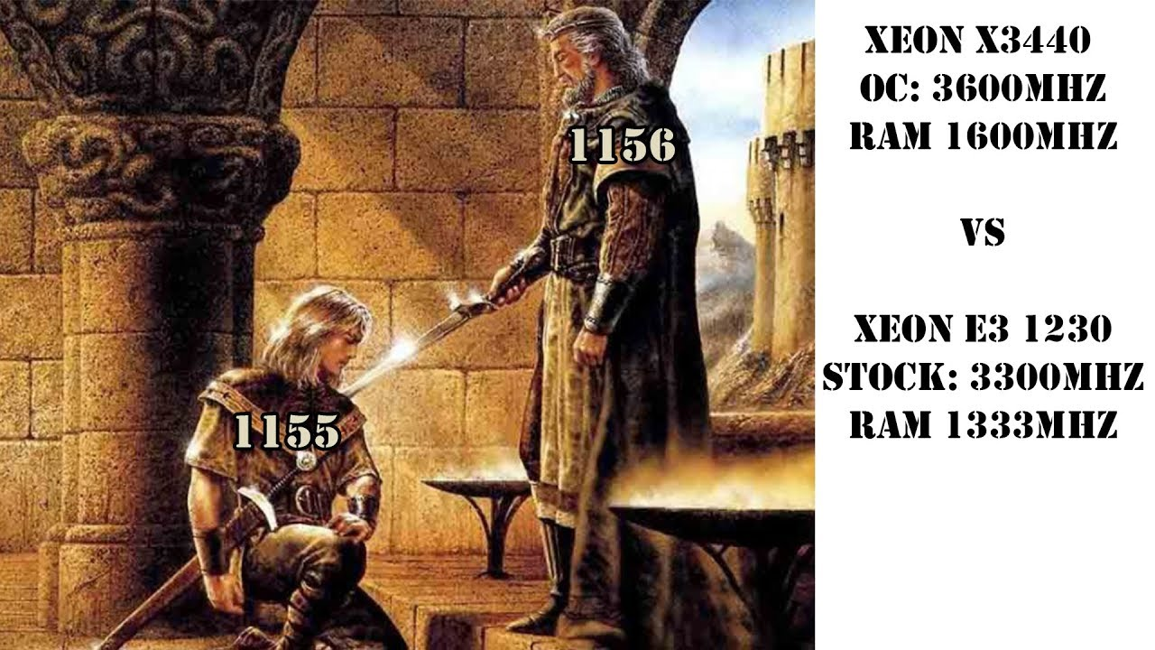 Новый король бюджетного сегмента? Сокет 1155 vs 1156. Х3440 против E3 1230