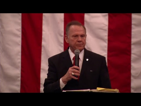 Previously Recorded:  Roy Moore at the Drain The Swamp Rally