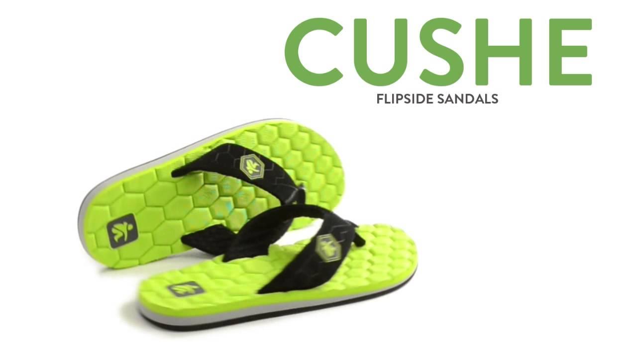 694ae13d12d8 Cushe Flipside Sandals - Flip-Flops (For Men) - YouTube