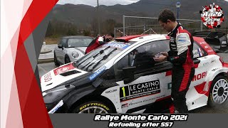Rallye Monte Carlo 2021 - Refueling after SS7 - Aa26 Racing