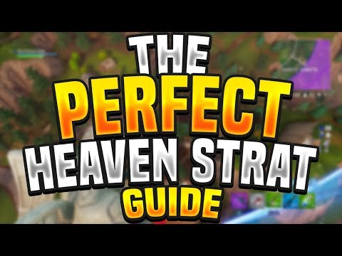 """HOW TO DO THE """"PERFECT"""" STAIRWAY TO HEAVEN STRATEGY IN FORTNITE - Fortnite Tips, Tricks & Guides"""