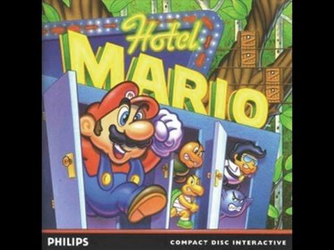 Hotel Mario Philips Cd I Game Play Youtube