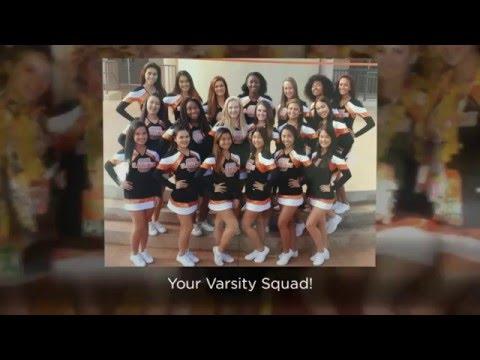 James Campbell High School Cheer 2015-2016 Season