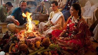 Vedic wedding/ Ведическая свадьба Marina & Balaram (Vivaha Yagya) - Jai Radha Madhav