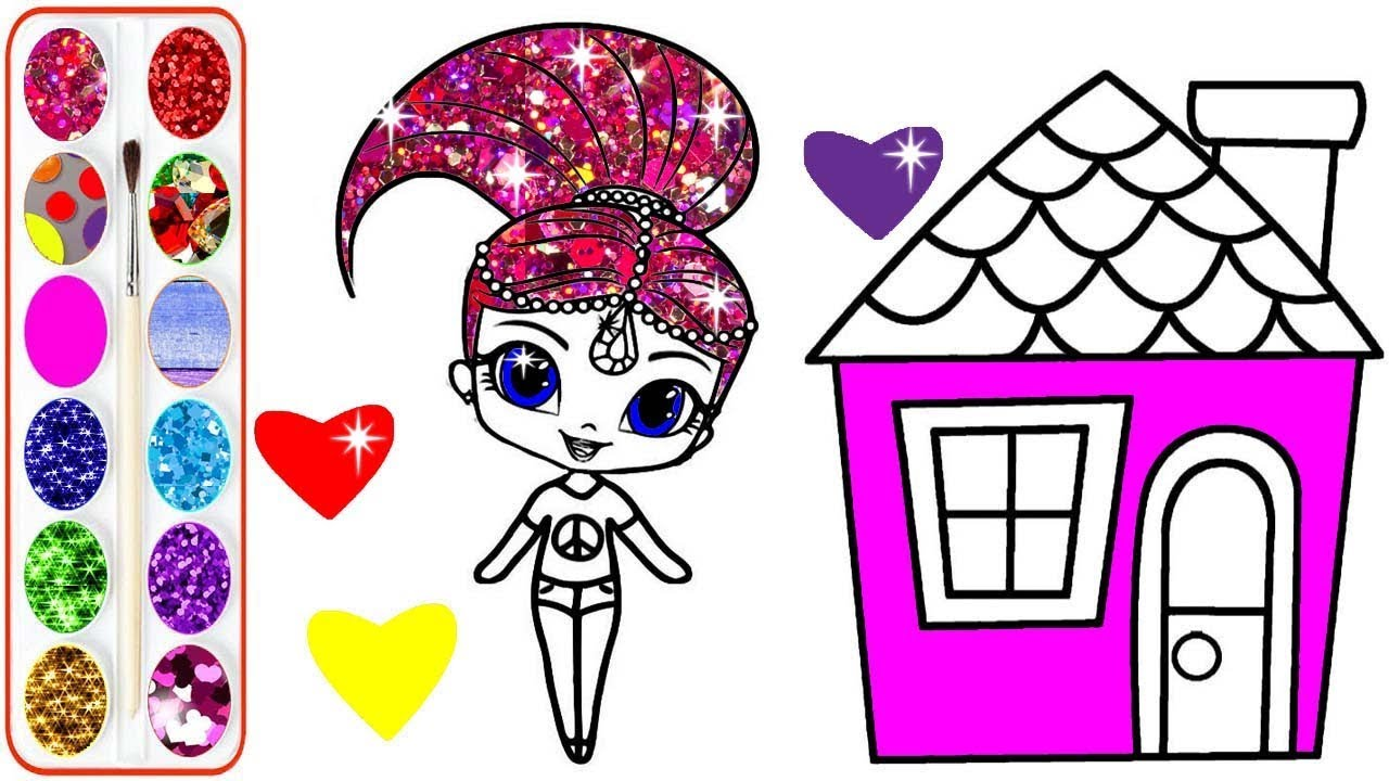 How to Draw a Princess Castle for Kids   Castle Coloring Page ...   720x1280