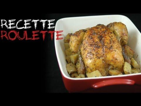 Poulet rôti et ses pommes de terre !
