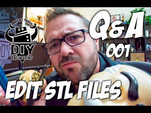 Q&A 001: Editing .STL Files with Fusion 360