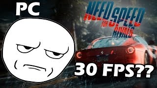 Need For Speed Rivals PC test - Bloqueado a 30 fps
