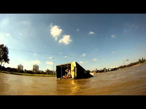 GoPro HD:  Wakeboarding - cable park Israel 720p