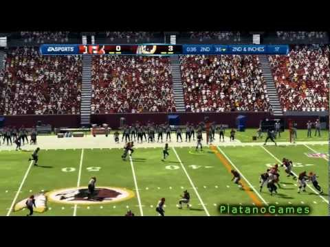 NFL 2012 Wk 3 - Cincinnatti Bengals (1-1) vs Washington Redskins (1-1) - 1st Half - Madden