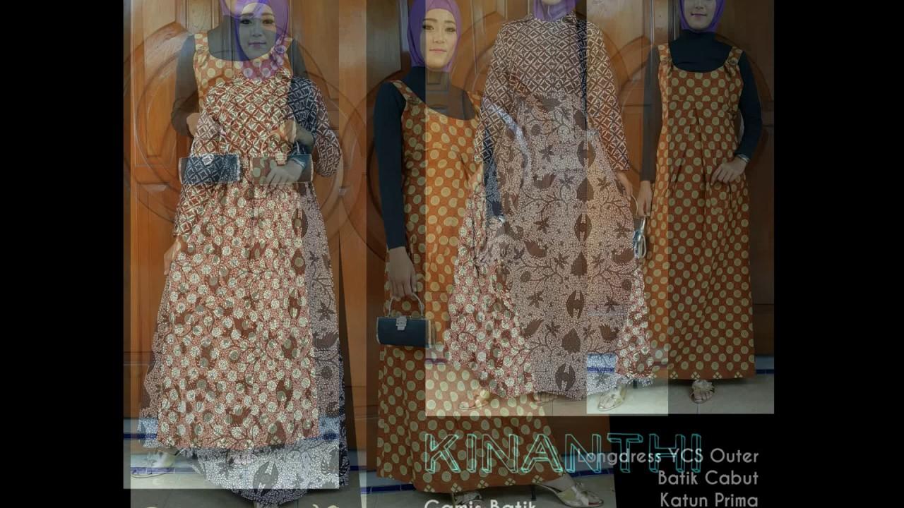 Wa 0816355490 Gamis Batik Muslimah Murah Gamis Batik Muslimah