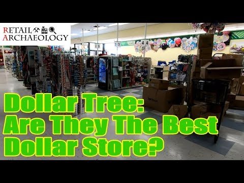 Dollar Tree: Are They The Best Dollar Store? | Retail Archaeology