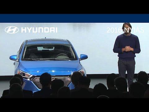 All-New 2017 Hyundai IONIQ U.S. Debut (COMPLETE SHOW) - 2016 NYIAS | 2017 Hyundai IONIQ