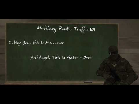 Military Radio Traffic 101- A Machinima How To