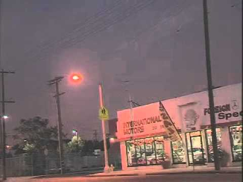 Best footage of a UFO over San Pedro CA & Long Beach, Harbor on 12-29-11 at sunset. Low-Res Version