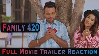 Family 420 Punjabi Movie Reaction ( Gurchet Chitarkar ) | Latest Punjabi Comedy Movies 2019