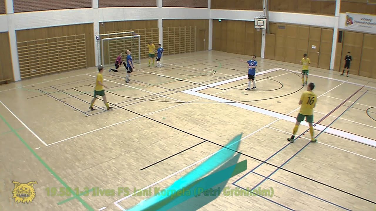FUTSAL: SPL Tampere Liittocup Ilves FS maalikooste 21.9.2014 - YouTube
