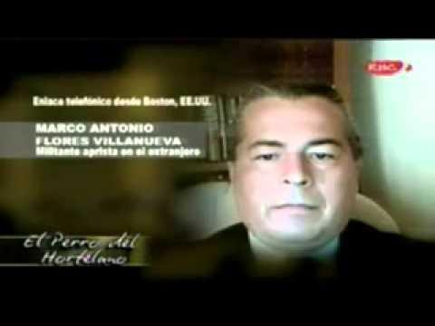 Cesar Hildebrandt interviews Marco Flores-Villanueva - Peruvian media