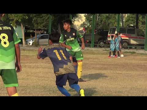 Pertandingan Liga Muda Cangehgar Cup IX LFA Cirebon Antara SSB Bintang Timoer Vs SSB Vic Soccer