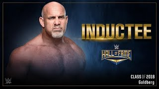 Gambar cover Goldberg joins the WWE Hall of Fame Class of 2018