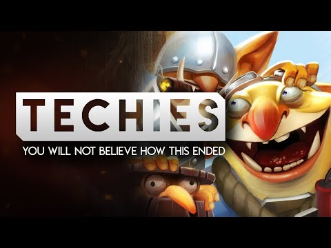 DOTA 2-- You will not believe how this ended-- Techies Full Gameplay