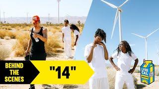 "Behind The Scenes of BabySantana and KA$HDAMI's 14"" Music Video"