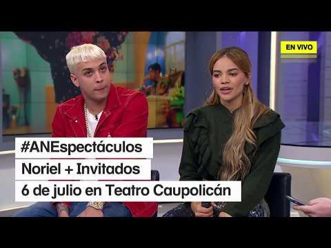 Leslie Grace & Noriel en Chile: Entrevista en AN Espectáculos