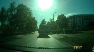 Wyprzedzanie (Poczta Polska) - Żwirki i Wigury Bydgoszcz 05-06-2015