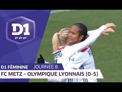 J8 : FC Metz - Olympique Lyonnais (0-5) / D1 Féminine