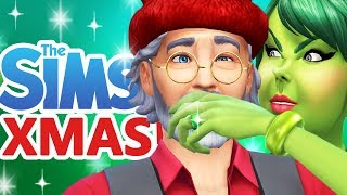 Let's Play The Sims 4 Christmas!  [ Part One ]