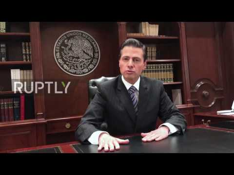 Mexico: President Nieto rejects Trump's border wall