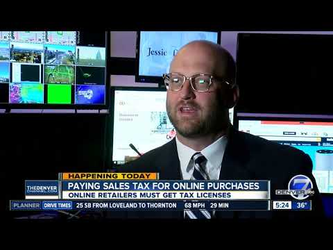Online Retailers Must Get Colorado Sales Tax License