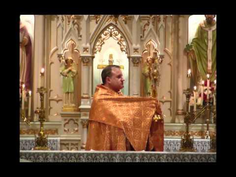 Totus Tuus Mass and Eucharistic Adoration