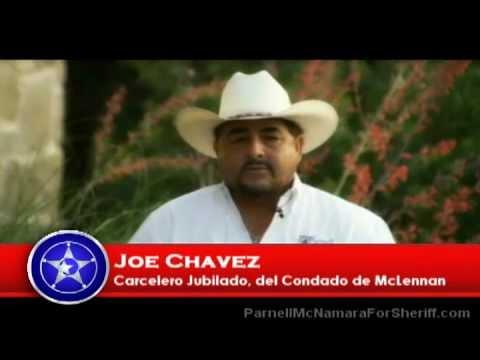Retirado McLennan Carcelero Co, Joe Chávez, McNamara suya para Sheriff