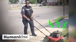 Officer's traffic stop starts chain of kindness   Humankind